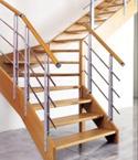 Escaliers contemporains menuiserie e burin haute savoie 74 - Escalier plasse prix ...